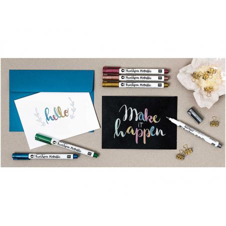 Acheter Boite créative 6 feutres métallisés - Rico Design - 16,99€ en ligne sur La Petite Epicerie - Loisirs créatifs