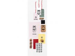 Acheter Kit de 12 tampons + 1 encreur noir - Chat good luck - 8,99€ en ligne sur La Petite Epicerie - 100% Loisirs créatifs
