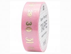 Acheter Masking tape rose et chiffres - Rico Design - 4,90€ en ligne sur La Petite Epicerie - 100% Loisirs créatifs
