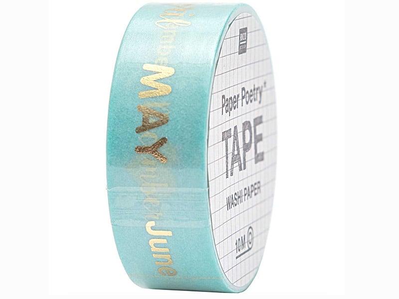 Acheter Masking tape vert et mois de l'année - Rico Design - 4,90€ en ligne sur La Petite Epicerie - Loisirs créatifs