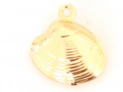 Acheter Pendentif coquillage palourde - laiton plaqué à l'or fin 18K - 0,99€ en ligne sur La Petite Epicerie - 100% Loisirs ...