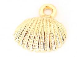 Acheter Pendentif coquillage 18 mm - laiton doré - 0,79€ en ligne sur La Petite Epicerie - 100% Loisirs créatifs