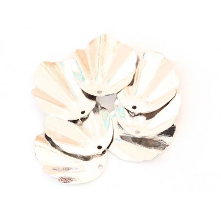 Acheter Pendentif coquillage 30 mm - plaqué platine - 2,69€ en ligne sur La Petite Epicerie - Loisirs créatifs