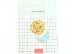 Acheter Patch thermocollant - Soleil & lune - 3,99€ en ligne sur La Petite Epicerie - 100% Loisirs créatifs