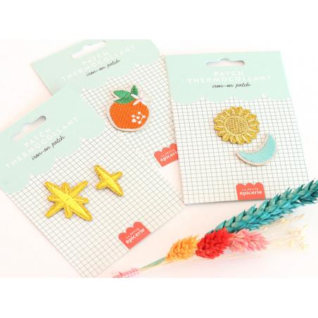 Acheter Patch thermocollant - Mandarine - 3,99€ en ligne sur La Petite Epicerie - Loisirs créatifs