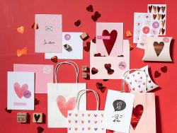 Acheter Kit de 9 tampons + 1 encreur noir - Flèches & coeurs - 9,29€ en ligne sur La Petite Epicerie - 100% Loisirs créatifs