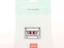 Acheter Patch thermocollant - Cassette - 3,99€ en ligne sur La Petite Epicerie - 100% Loisirs créatifs