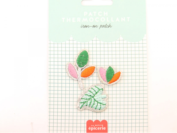 Acheter Patch thermocollant - Végétal - 3,99€ en ligne sur La Petite Epicerie - Loisirs créatifs