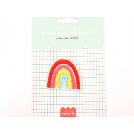 Acheter Patch thermocollant - Arc-en-ciel - 3,99€ en ligne sur La Petite Epicerie - Loisirs créatifs