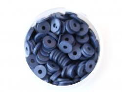 Acheter Boite de perles rondelles heishi 6 mm - bleu nuit - 1,99€ en ligne sur La Petite Epicerie - 100% Loisirs créatifs
