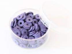 Acheter Boite de perles rondelles heishi 6 mm - indigo - 1,99€ en ligne sur La Petite Epicerie - Loisirs créatifs