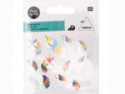 Acheter Lots d'écussons thermocollants - Licornes - 3,39€ en ligne sur La Petite Epicerie - 100% Loisirs créatifs