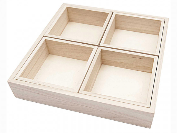 Acheter Casier en bois à customiser - Rico design - 8,00€ en ligne sur La Petite Epicerie - 100% Loisirs créatifs