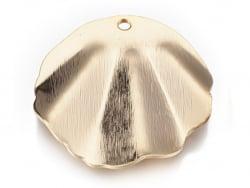 Acheter Pendentif coquillage 30 mm - doré à l'or fin - 2,79€ en ligne sur La Petite Epicerie - Loisirs créatifs