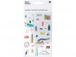 Acheter Stickers autocollants - Week-end à Londres - 5,19€ en ligne sur La Petite Epicerie - Loisirs créatifs