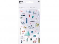Acheter Stickers autocollants - Travel the world - 5,19€ en ligne sur La Petite Epicerie - 100% Loisirs créatifs