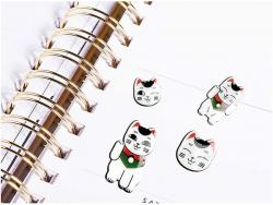 Acheter Stickers autocollants - Chat porte bonheur - 5,19€ en ligne sur La Petite Epicerie - 100% Loisirs créatifs