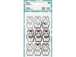 Acheter Lot de 4 planches de stickers autocollants - Chats porte bonheur - 3,69€ en ligne sur La Petite Epicerie - 100% Lois...