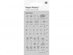 Acheter Pochoirs d'écriture pour bullet journal - Thème bureau - Rico Design - 3,99€ en ligne sur La Petite Epicerie - 100% ...