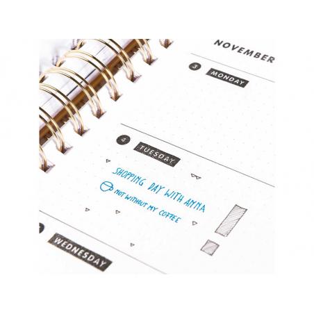 Acheter Tampons transparents pour Bullet Journal - Mois & Jours - 4,49€ en ligne sur La Petite Epicerie - Loisirs créatifs