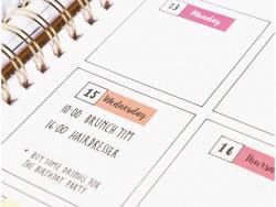 Acheter Lot de 4 planches de stickers autocollants - Jours couleurs chaudes - 3,69€ en ligne sur La Petite Epicerie - 100% L...
