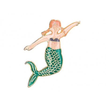 Acheter Pin's sirène rousse - Rico Design - 4,89€ en ligne sur La Petite Epicerie - Loisirs créatifs