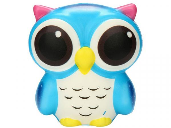 Acheter Squishy hibou bleu - anti stress - 10,79€ en ligne sur La Petite Epicerie - Loisirs créatifs