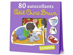 Acheter 80 autocollants Petit Ours Brun - la maison - 4,90€ en ligne sur La Petite Epicerie - 100% Loisirs créatifs