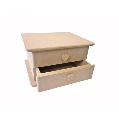 Acheter Boîte à bijoux avec miroir - 16,5 cm - 8,99€ en ligne sur La Petite Epicerie - 100% Loisirs créatifs