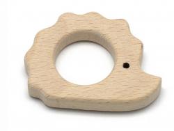 Acheter Accessoire pour hochet montessori / jouet de dentition en bois - Hérisson - 2,39€ en ligne sur La Petite Epicerie - ...