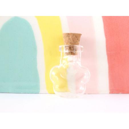 Acheter Fiole en verre fleur - 25 mm - 0,99€ en ligne sur La Petite Epicerie - Loisirs créatifs