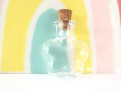 Acheter Fiole en verre grande fleur - 32 mm - 1,09€ en ligne sur La Petite Epicerie - Loisirs créatifs