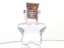 Acheter Fiole en verre étoile - 25 mm - 0,99€ en ligne sur La Petite Epicerie - 100% Loisirs créatifs