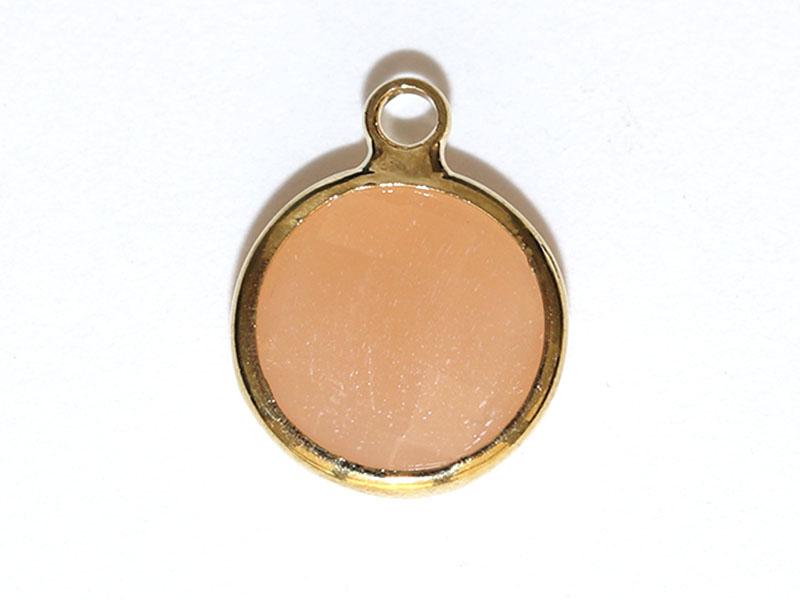 Acheter Pendentif rond en verre à facettes 10mm - cristal orangé - 1,49€ en ligne sur La Petite Epicerie - 100% Loisirs créa...