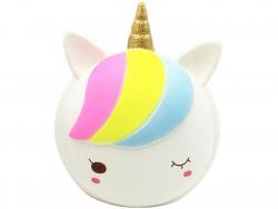 Acheter Maxi squishy Macaron Licorne blanche - anti stress - 19,99€ en ligne sur La Petite Epicerie - 100% Loisirs créatifs
