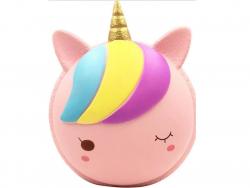 Acheter Maxi squishy Macaron Licorne rose - anti stress - 19,99€ en ligne sur La Petite Epicerie - 100% Loisirs créatifs