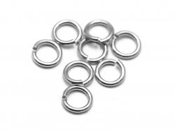 Acheter 20 anneaux 5mm - argent - 0,99€ en ligne sur La Petite Epicerie - 100% Loisirs créatifs