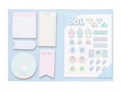 Acheter Coffret blocs notes Mr Wonderful - 10,89€ en ligne sur La Petite Epicerie - 100% Loisirs créatifs