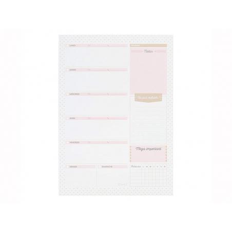 Acheter Semainier vertical - Mr Wonderful - 12,39€ en ligne sur La Petite Epicerie - Loisirs créatifs