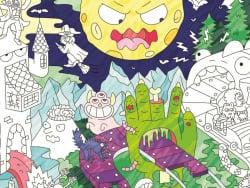 Acheter Poster géant en papier à colorier - ZOMBIES - 9,99€ en ligne sur La Petite Epicerie - Loisirs créatifs