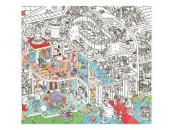 Acheter Poster géant en papier à colorier - CRAZY MUSEUM - 9,99€ en ligne sur La Petite Epicerie - 100% Loisirs créatifs