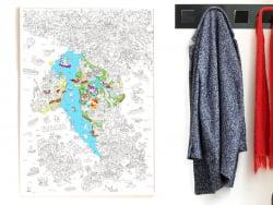 Acheter Poster géant en papier à colorier - ITALY - 9,99€ en ligne sur La Petite Epicerie - 100% Loisirs créatifs