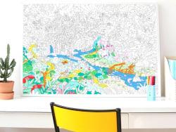 Acheter Poster géant en papier à colorier - JUNGLE - 11,90€ en ligne sur La Petite Epicerie - Loisirs créatifs