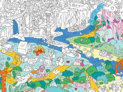 Acheter Poster géant en papier à colorier - JUNGLE - 9,99€ en ligne sur La Petite Epicerie - 100% Loisirs créatifs