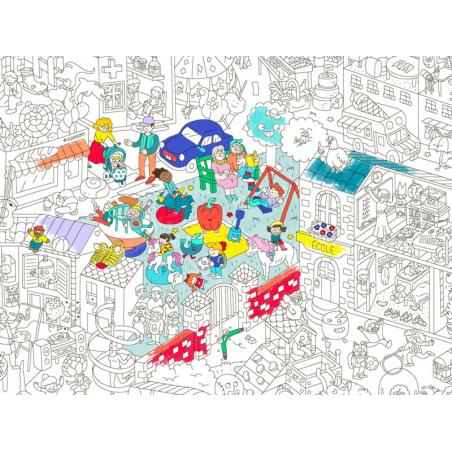 Acheter Poster géant en papier à colorier - KIDS LIFE - 9,99€ en ligne sur La Petite Epicerie - 100% Loisirs créatifs