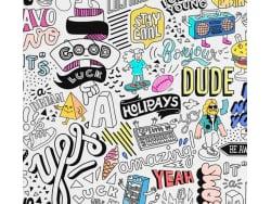 Acheter Poster géant en papier à colorier - STREET ART - 15,99€ en ligne sur La Petite Epicerie - Loisirs créatifs