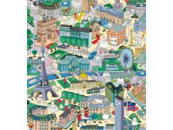 Acheter Poster géant en papier à colorier et stickers - PARIS - 15,99€ en ligne sur La Petite Epicerie - Loisirs créatifs