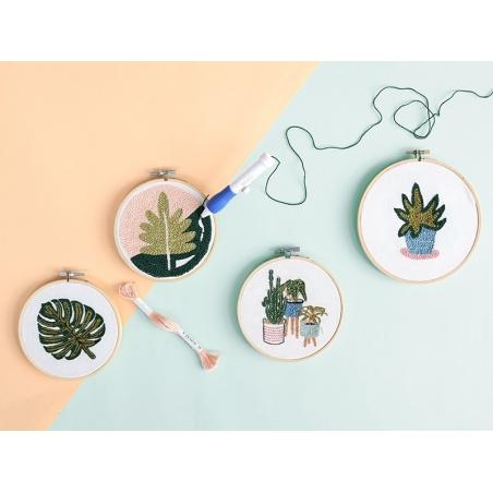 Acheter Tambour à broder bois clair - 7,5 cm - 3,99€ en ligne sur La Petite Epicerie - 100% Loisirs créatifs