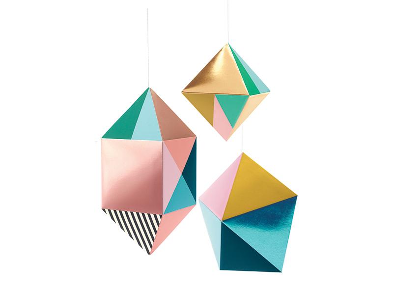 Acheter Kit DIY fabrication de mobile en papier - Pampilles - 6,69€ en ligne sur La Petite Epicerie - Loisirs créatifs