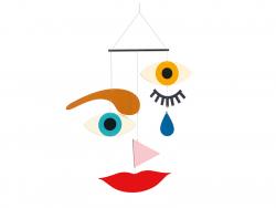 Acheter Mobile en bois - Expression - 16,99€ en ligne sur La Petite Epicerie - Loisirs créatifs